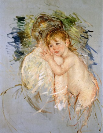 A Study for Le Dos Nu - Mary Cassatt Painting on Canvas