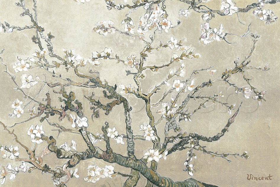 Almond Branches in Bloom, San Remy - Van Gogh Painting On Canvas