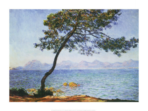 Antibes - Claude Monet Paintings