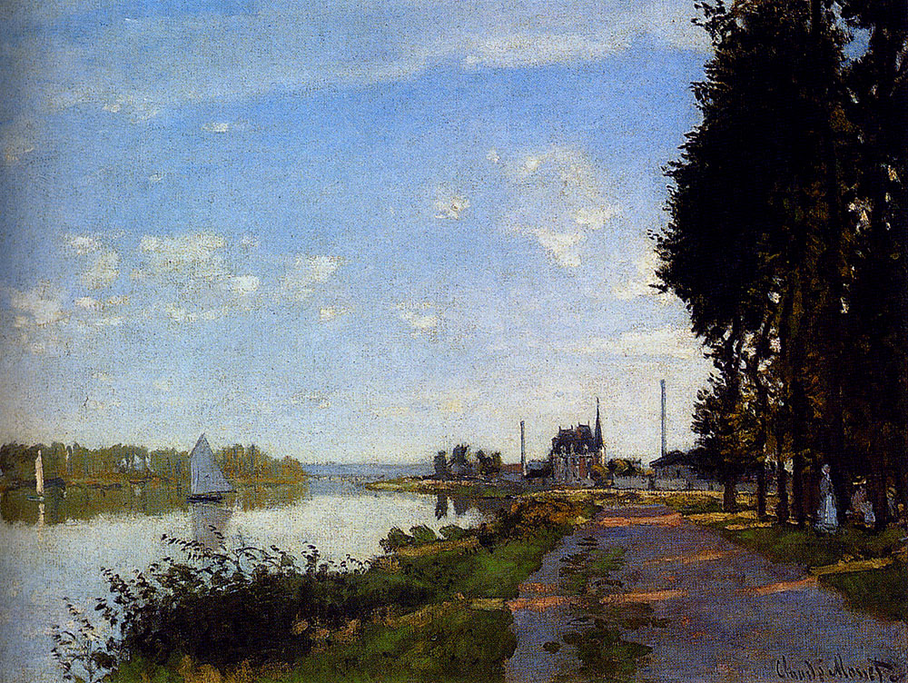 Argenteuil - Claude Monet, 1872 - Claude Monet Paintings