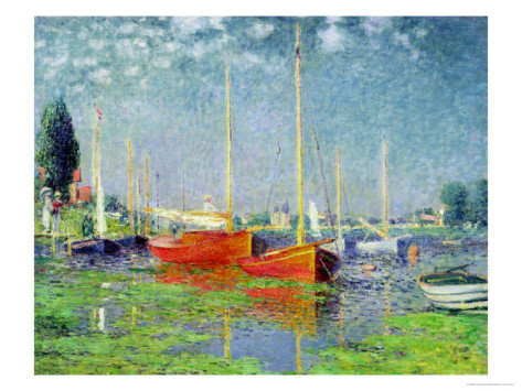 Argenteuil, circa 1872 - Claude Monet Paintings