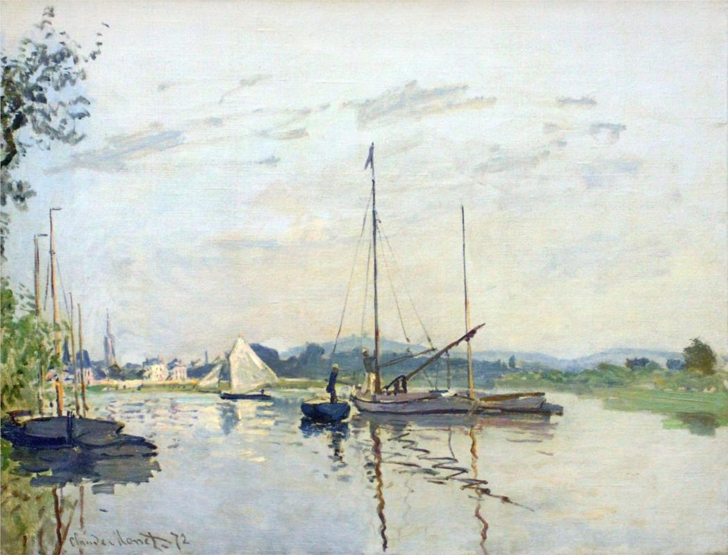 Argenteuil - Claude Monet Paintings