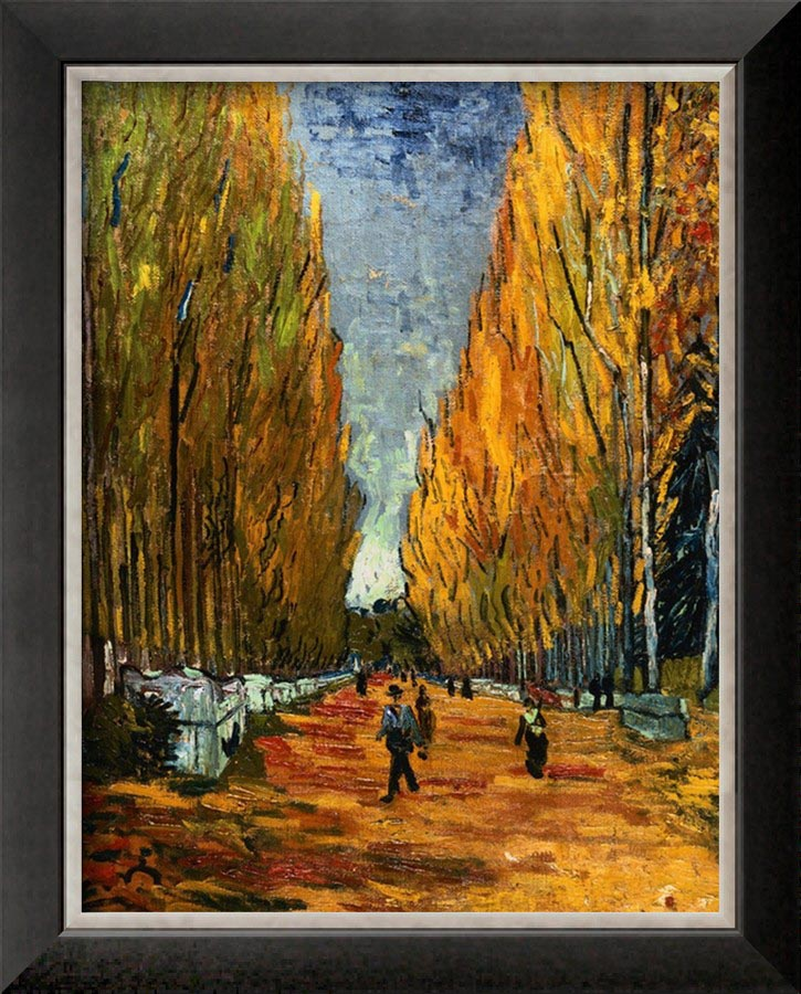 Avenue of The Elysian Fields - Van Gogh Painting On Canvas