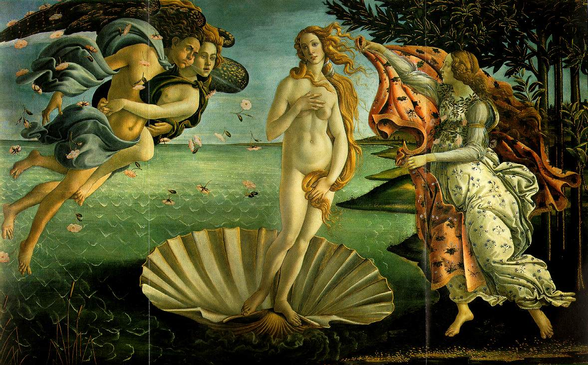 Birth Of Venus - Sandro Botticelli painting on canvas
