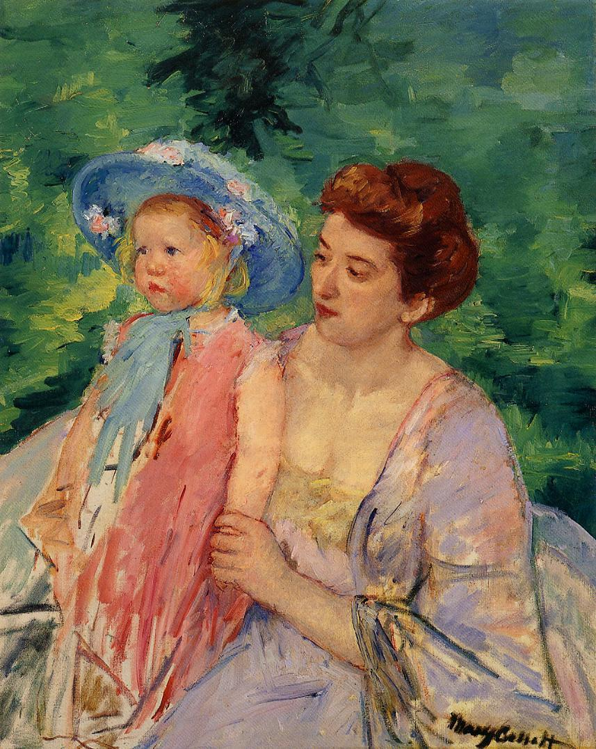 Boat, Bath - Mary Cassatt Painting on Canvas
