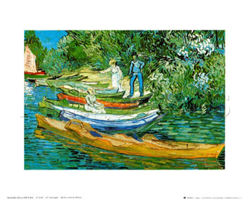 Boats to Rent - Van Gogh Painting On Canvas