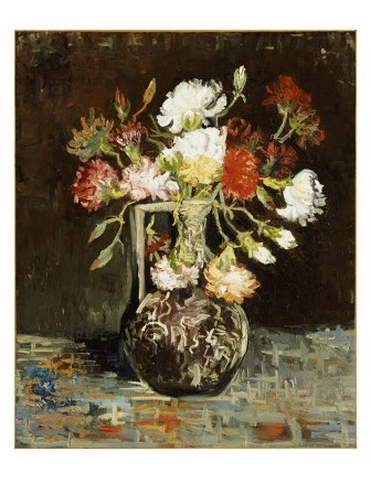 Bouquet of Flowers - Van Gogh Painting On Canvas