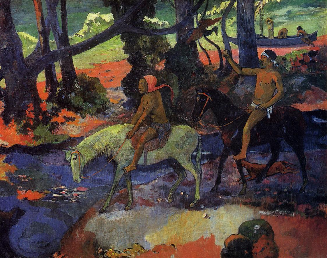 Flight - Paul Gauguin Painting