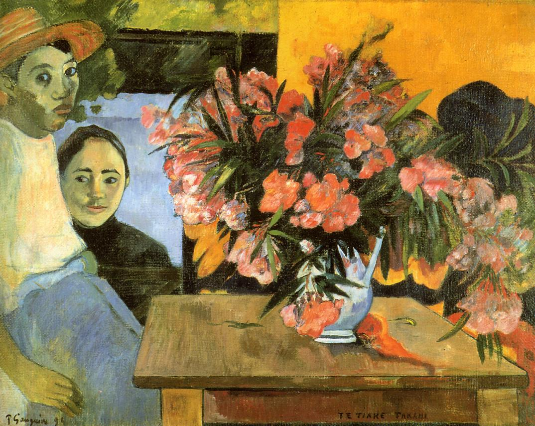 Flowers of France - Paul Gauguin Painting
