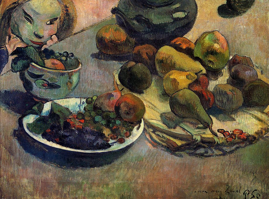 Fruit - Paul Gauguin Painting
