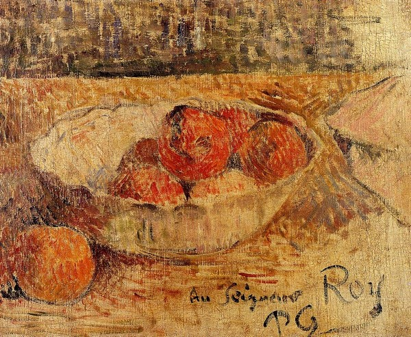 Fruit in a Bowl - Paul Gauguin Painting