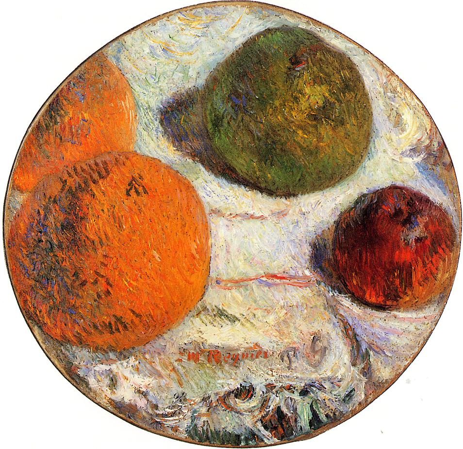 Gauguin Fruit - Paul Gauguin Painting