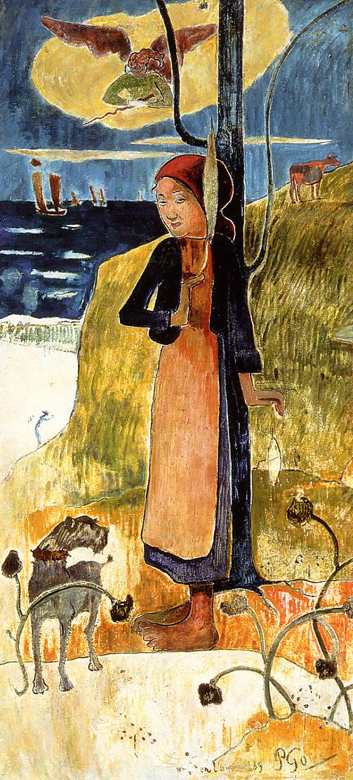 Gauguin Joan of Arc - Paul Gauguin Painting