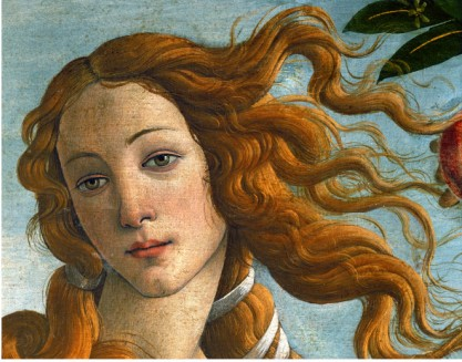 Head Of Venus 1486 - Sandro Botticelli painting on canvas