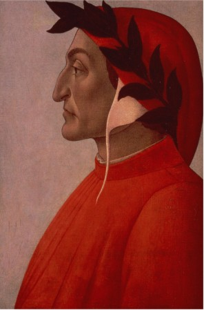 Portrait Of Dante - Sandro Botticelli painting on canvas