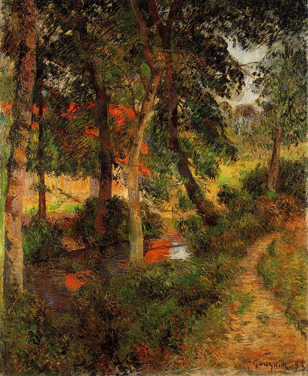 Pere Jean's Path - Paul Gauguin Painting