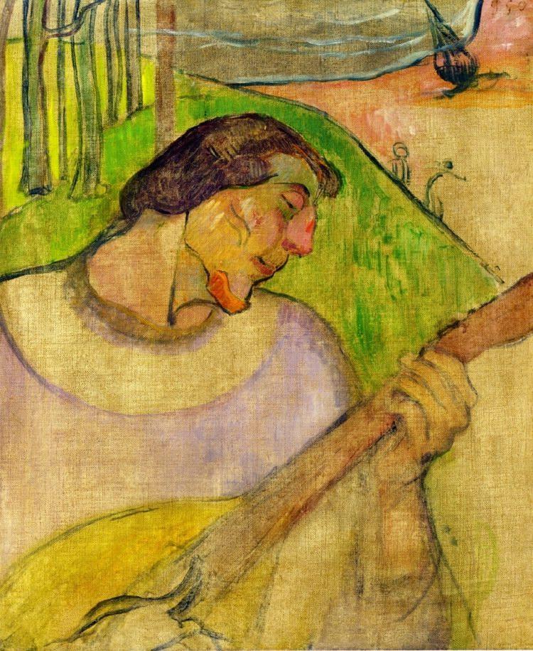 paul gauguin önarckép