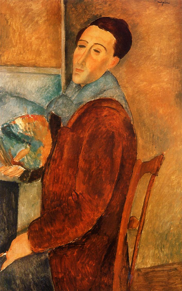 Self Portrait - Amedeo Modigliani Paintings