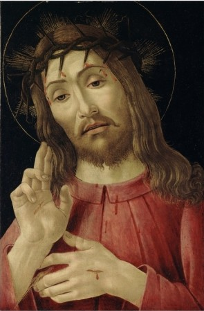 The Resurrected Christ, C.1480 - Sandro Botticelli painting on canvas