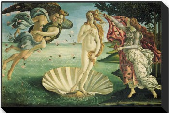 The Birth Of Venus, C.1485 - Sandro Botticelli painting on canvas