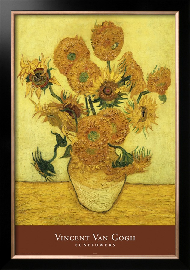 Vincent Van Gogh Sunflower Painting Name Flowers Healthy